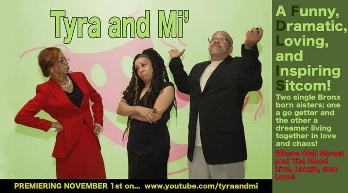 Mimi Johnson has embarked on a most ambitious mission to launch her first sitcom on November 1 on YouTube. We need to have subscribers, so click the image and join the viewers.