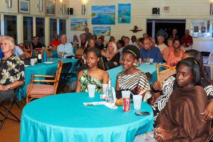 Guests at the Grand Bahama Sailing Club