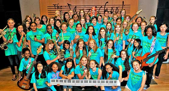 Sixth Annual JCMS Girls' Jazz & Blues Camp Directed by Jean Fineberg snd Ellen Seeling