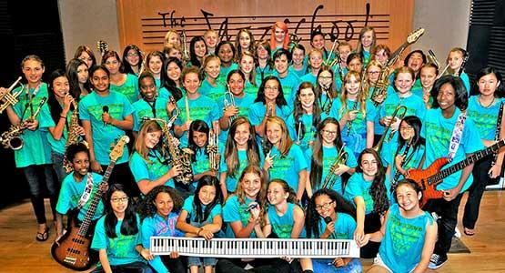 Sixth Annual JCMS Girls' Jazz & Blues Camp Directed by Jean Fineberg snd Ellen Seeling