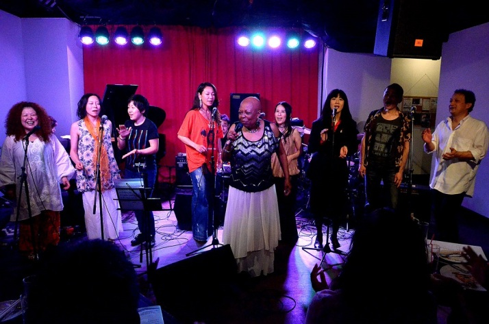 In April-May, Sandi Blair flew to Osaka, Japan, to give The Vocal Musician Workshop to students.