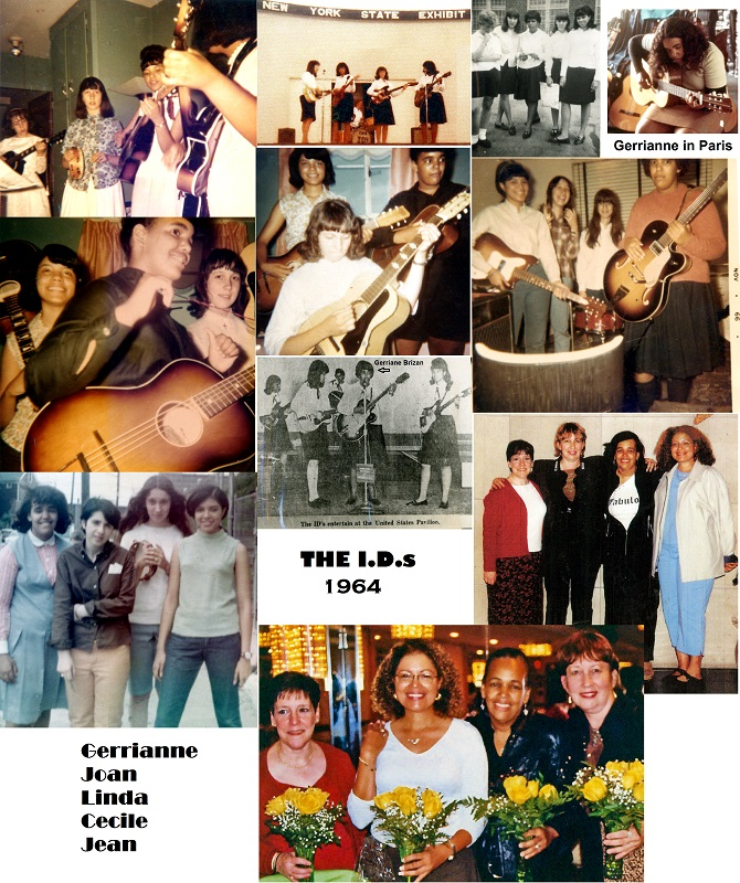 WIJSF member Gerrianne Brizan was a part of The I.D.s in 1964 in Queens, NY.  These ladies will be guests on MUSICWOMAN RADIO on August 28 at 4 p.m. at www.blogtalkradio.com/musicwoman