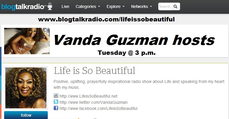 http://blogtalkradio.com/lifeissobeautiful