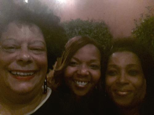 Diva JC, Shay-Renae, and Adrianne Dotson on Beale Street, Memphis, TN