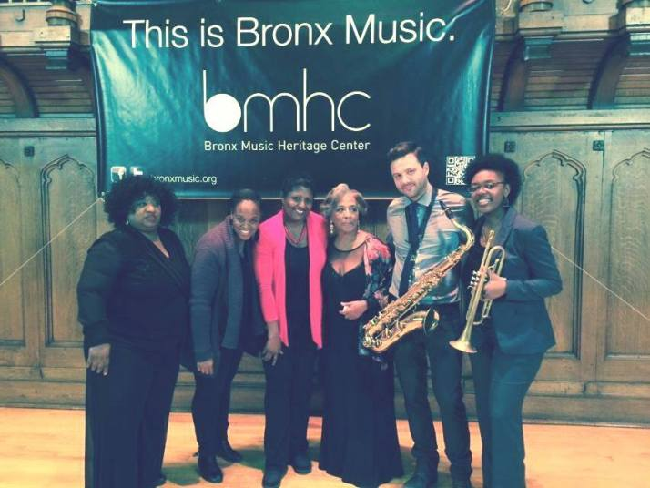 BERTHA HOPE QUINTET -  December 7, 2014 @ 6-10 p.m. at Minton's in Harlem, NYC
