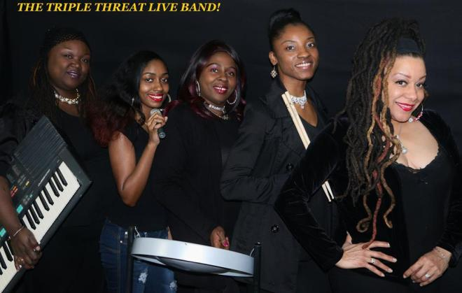Watch out for The Triple Threat Band!