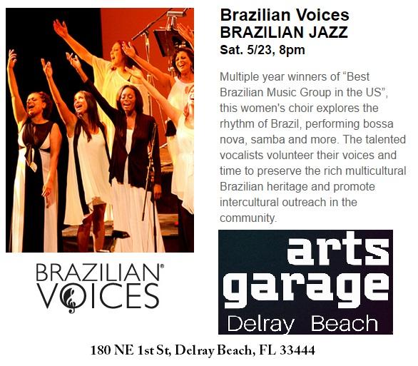 brazilian voices arts garage