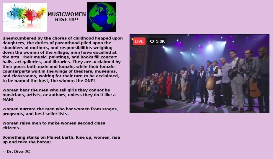 1musicwomen rise up