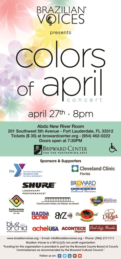 COLORS OF APRIL e-flyer