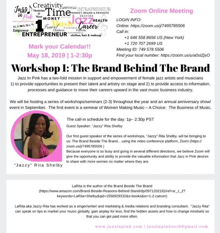 jazzinpink workshop